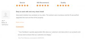 Customer Testimonials 18
