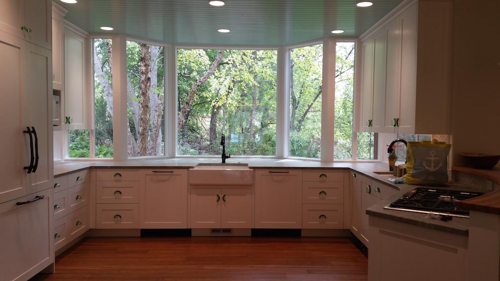 Milgard kitchen remodel Style Line and Montecito windows 1